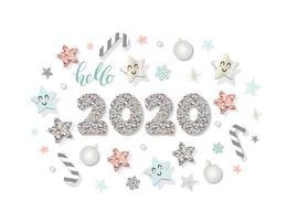 2020 modello di nuovo anno