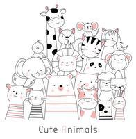 Simpatici animaletti Immagine pronta