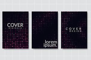 Design moderno del layout di copertina vettore