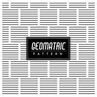 Sfondo bianco e nero motivo geometrico senza soluzione di continuità vettore