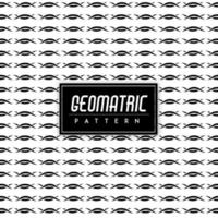 Sfondo geometrico bianco e nero vettore