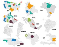 Set di Mappa Paese