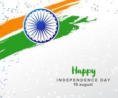 Giorno dell'Indipendenza. India. 15 agosto. vettore