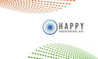 15 agosto, celebrazioni della festa dell'indipendenza indiana vettore