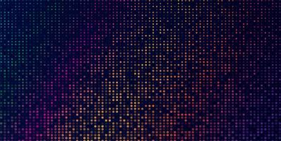 Fondo geometrico moderno di vettore scuro di multi colore