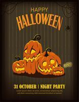 Banner di poster di Halloween