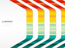 Motivo colorato a righe linea tecnologia con lo spazio della copia di copertina