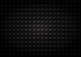 Gradiente di sfondo quadrato nero motivo geometrico.