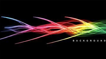 linee d'onda di sfondo vettore