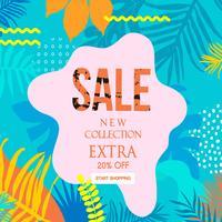 Banner del sito Web di vendita extra
