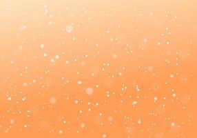 Priorità bassa della sfuocatura punteggiata minima arancione astratta