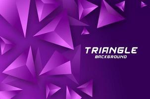 Vivace viola con elemento triangolare sullo sfondo