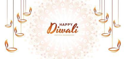 Bellissimo biglietto di auguri per il festival della comunità indù