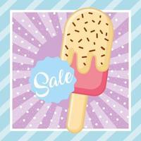 Banner di vendita estate gelato