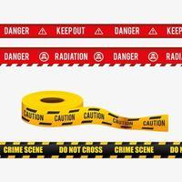 Set di nastri di avvertenza