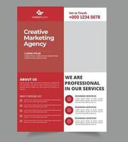 Design creativo volantino aziendale