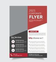 Modello di brochure aziendale sezioni