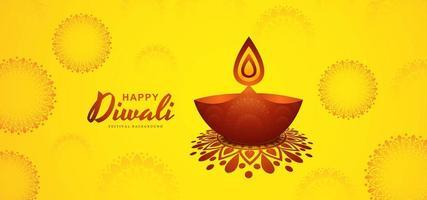Festa del sole Diwali con elementi Diwali
