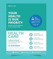 Modello di salute dell'ospedale medico