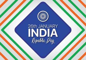 Bandiera con diamanti colorati per la festa dell'indipendenza dell'India