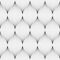 Sottili linee nere che rendono il modello senza soluzione di continuità vettore