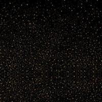 Trama glitter oro su sfondo nero vettore