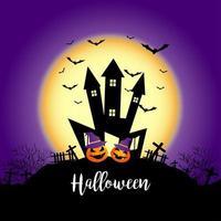 Castello di Halloween spettrale