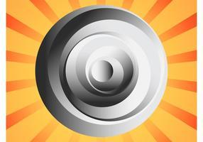 Logo astratto del cerchio