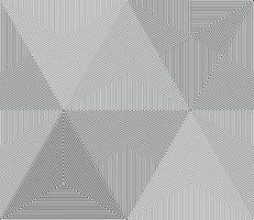 Linea geometrica monocromatica senza cuciture. vettore