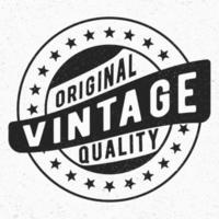 Timbro originale vintage vettore