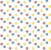 Motivo a stelle colorate