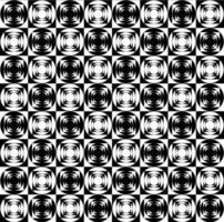 Motivo geometrico bianco e nero op art
