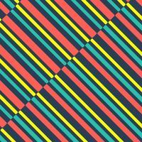 Sfondo di linee di colore vintage vettore