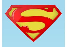 Logo Superman vettore