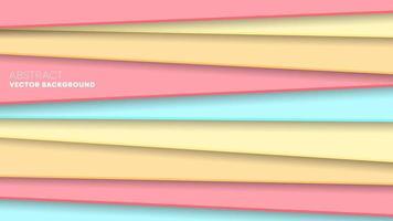 Sfondo con strisce colorate, carta da parati dal design minimale vettore