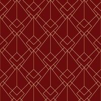 modello marrone rossiccio rosso geometrico semplice senza cuciture di art deco