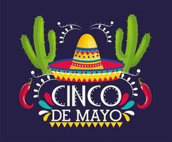 Biglietto d'auguri Cinco De Mayo