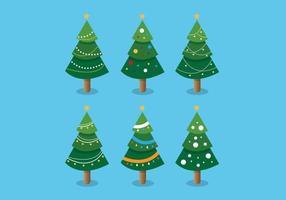 Collezione di alberi di Natale