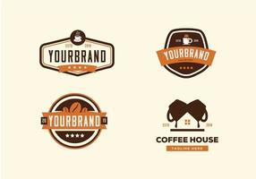 Insieme di raccolta della caffetteria