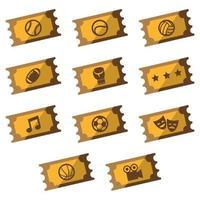 Biglietti d'oro per eventi