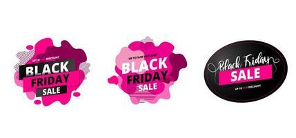 Fino a 70 offerte per la vendita del Black Friday sul set di fluidi astratti