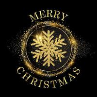 Sfondo di Natale fiocco di neve glitter