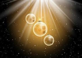 Sfondo pallina di Natale