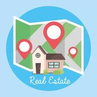 posizione e mappa per ospitare la posizione della proprietà