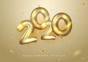 2020 Sfondo per i tuoi volantini stagionali e biglietti d'invito a tema