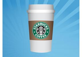 tazza di Starbucks vettore