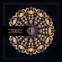 Golden Mandala Design