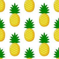 Ananas Seamless vettore