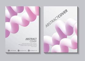 abstract copre fluidi vettore