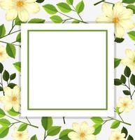 Modello di carta bellissimo fiore